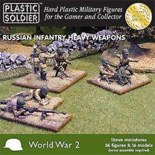 Plastic Soldier WW2015004 - Russian Infantry Heavy Armas - 15mm