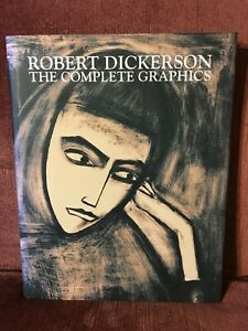 Robert Dickerson: The Complete Graphics  Louisa Powell Signed by Author & Artist