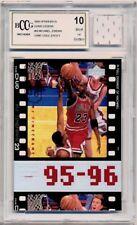 c5b27083ddb 1998 Upper Deck  80 MICHAEL JORDAN MEMORABILIA (HOF) Bulls MINT BCCG 10