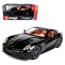 Bburago 1:24 Ferrari 599 GTO Metal Model Car Roadster Black