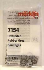 7154 MARKLIN HO Rubber Tires 10 pieces/bag - NEW