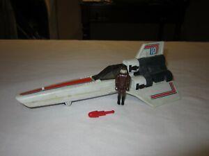 Vintage 1978 Mattel Battlestar Galactica Viper with Pilot & Missile