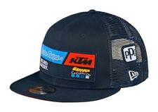2020 TROY LEE DESIGNS KTM TEAM SNAPBACK CAP NAVY ADULT TLD HAT MX NEW ONE SIZE