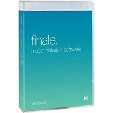 MakeMusic Finale 25 Music Notation Software MAC/WIN  Academic