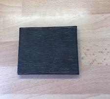 Black Faux Leather Magic Wallet