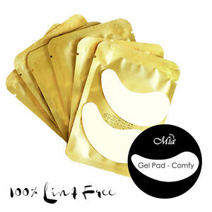 Comfy Lint Free Gel Eye Pad Under Eye Patch Eyelash Extension Protective Mask