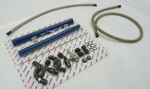 OBX Blue Einspritzverfahren Schiene für 98 To 02 GM F-Body Camaro Firebird Ls1