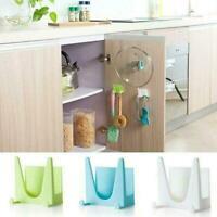 10/4/1X Kitchen Wall Hanger Housekeeper Holder Lid Shelf Storage Cover V2O6