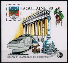 TIMBRE FRANCE BLOC CNEP n°12 NEUF** AQUITAINE - salon philatélique de BORDEAUX