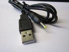 5V Cable USB Cargador Cable de plomo para Flytouch VI 2.3/Cortex A8/1GHz/512M/8GB