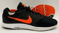 Nike Downshifter 7 Running Trainers 852459-006 Black/Orange UK8/US9/EU42.5