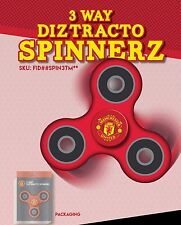MANCHESTER UNITED OFFICIALLY LICENSED FIDGET SPINNER **SAFETY CERTIFIED TESTED**