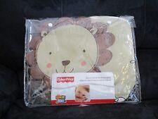 Fisher-Price Luv U Zoo Soft Fabric Lion Wall Hanging 15.25 X 11.5 Nursery decor