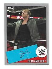 DEAN AMBROSE - 2015 WWE TOPPS HERITAGE AUTHENTIC AUTOGRAPH - 9/25