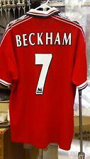 Original Official Umbro 1998 1999 Manchester United Beckham Jersey adult XXL