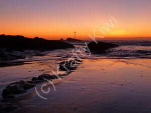 Bude Sunset 2 Cornwall Photo Art Print Canvas (UK)