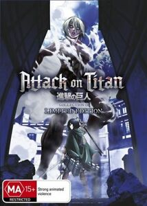Attack On Titan: Collection 2 (Eps 14-25) (Limited Edition) DVD R4 NTSC