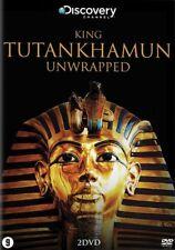 King Tutankhamun Unwrapped   2-dvd    in seal