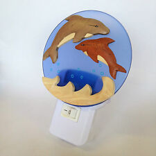 Nursery Night Light LED for Baby Dolphin Design - UK Plug In ***SPECIAL OFFER***