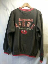 San Francisco 49 ERS Embroidery Pullover Sweater