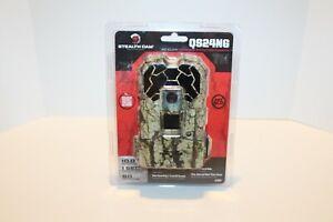 Stealth Cam QS24NG 10 MP Trail Camo Hunting Camera No Glow Infrared 60ft Range