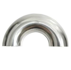 304 Stainless Steel 180 Degree OD32MM×1.5 Sanitary Weld Elbow Tail Pipe Fitting