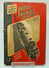 abc British Railways Locomotives Ian Allen Trains trainspotting Booklet 1950s