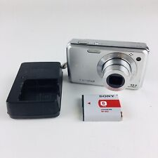 Sony Cybershot DSC-W230 Digital Camera - Silver With Charger