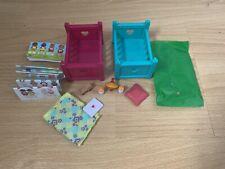 Lil Woodzeez Extra Accessories! Cribs, Dollhouse Items