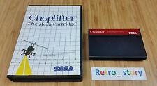 SEGA Master System Choplifter PAL