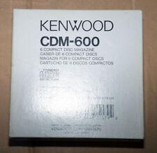 Kenwood CDM 600 • NEW • 6 fach CD Wechsler Magazin • CDM600 • CD Changer