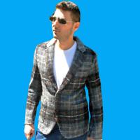 ZARA Dark Grey Wool Alpaca Blazer Jacket Man Authentic BNWT RRP £129.00 7179/351
