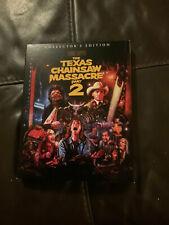 New ListingThe Texas Chainsaw Massacre Part 2 Scream Factory Blu-Ray W/ Slipcover Rare