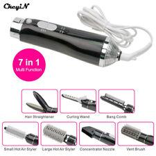7 In 1 Multifunction Hair Styling Tools Set Hair Curler Straightener Hairdryer