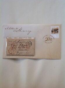 2009 - Australia - A Letter To Mary Prestige Cover 13,740/15,000