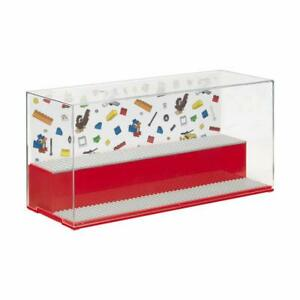 LEGO RED PLAY & DISPLAY CASE BRAND NEW - 2 LEVEL DISPLAY MINI FIGURES 4070