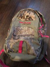 Mossy Oak Infinity Field line Pro Series Backpack OD w/pink