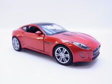 47729 Welly Jaguar F-Type Coupe Sportwagen Modellauto ab 2013 orange 1:38 NEU