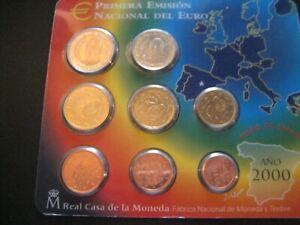 @ COFFRET BU  EURO  2000  ESPAGNE   @