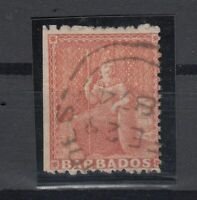 C2680/ BRITISH BARBADOS – BRITANNIA - SG # 57 USED – CV 135 $