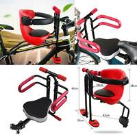 Child Front Carrier Baby Back Seat Chair MTB Bike Bicycle Security Kids Handrail