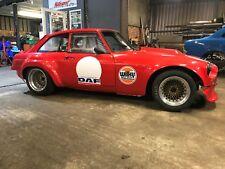 MGB GT V8 race car classic retro hill climb