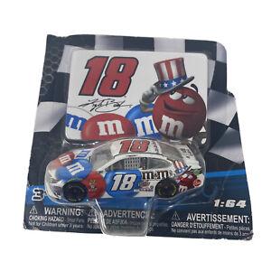 NASCAR Authentic Kyle Busch 18 Diecast Car 1/64 Scale 2018 Wave 11 DieCut Magne