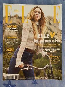 Magazine ELLE n°3877 10 avril 2020 Behati Prinsloo dossier Elle aime la planète