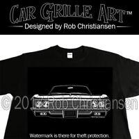 Car Grille Art™ Teeshirt, T-Shirt, 1966 Impala, Caprice, Biscayne, Belair