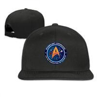 Star Trek Fiction Federal World Snapback Baseball Hat Adjustable Cap