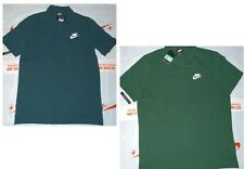 New Nike Golf Polo Shirt Contrast Collar  Selection  Navy Blue Teal Green