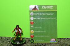 Marvel Heroclix Spider-Woman Secret Invasion #100 Super Rare With Card