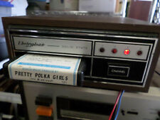 Working vintage Electrophonic portable 8 track player w/ Tapes