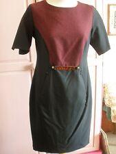 NEW Nam & Co  Black & Burgundy Dress UK 10